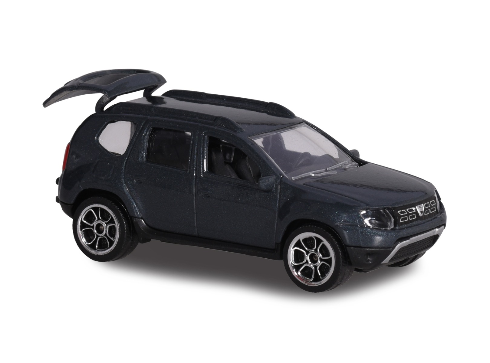 Masinuta Dacia Duster Majorette, 7.5 cm, Negru