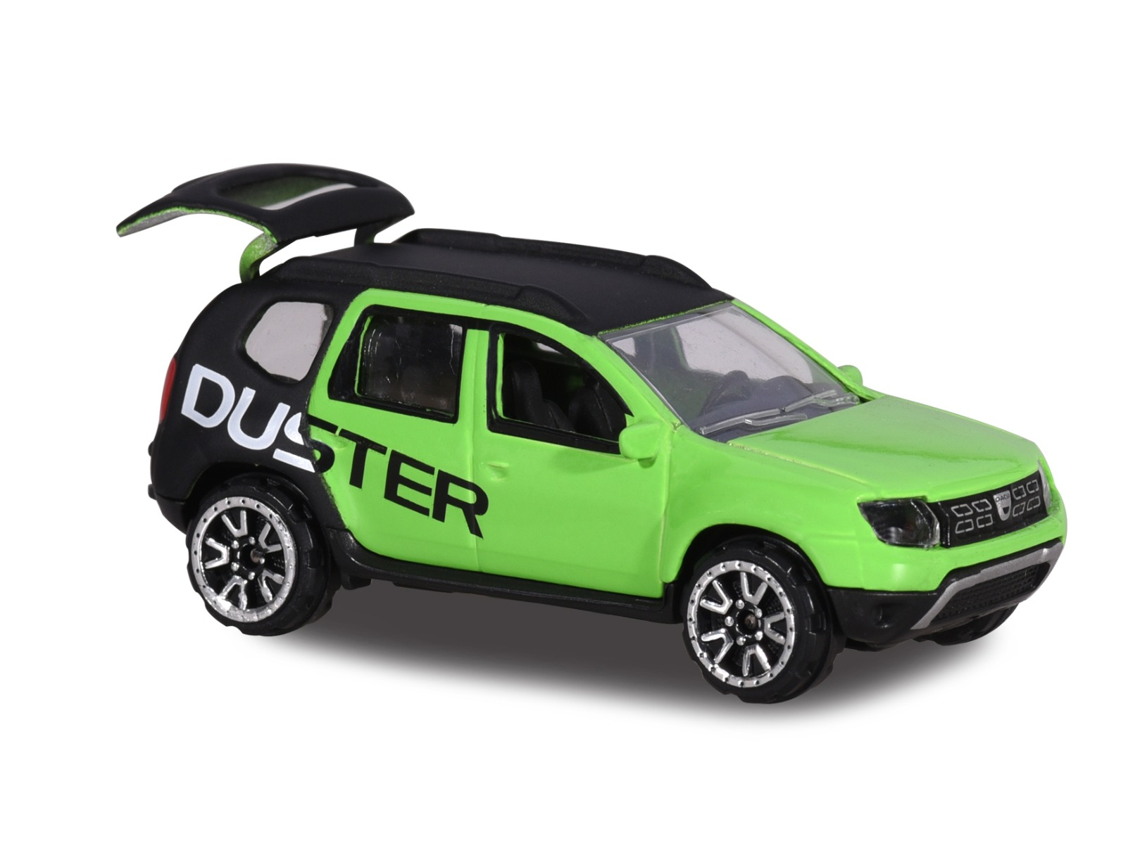 Masinuta Dacia Duster Majorette, 7.5 cm, Verde