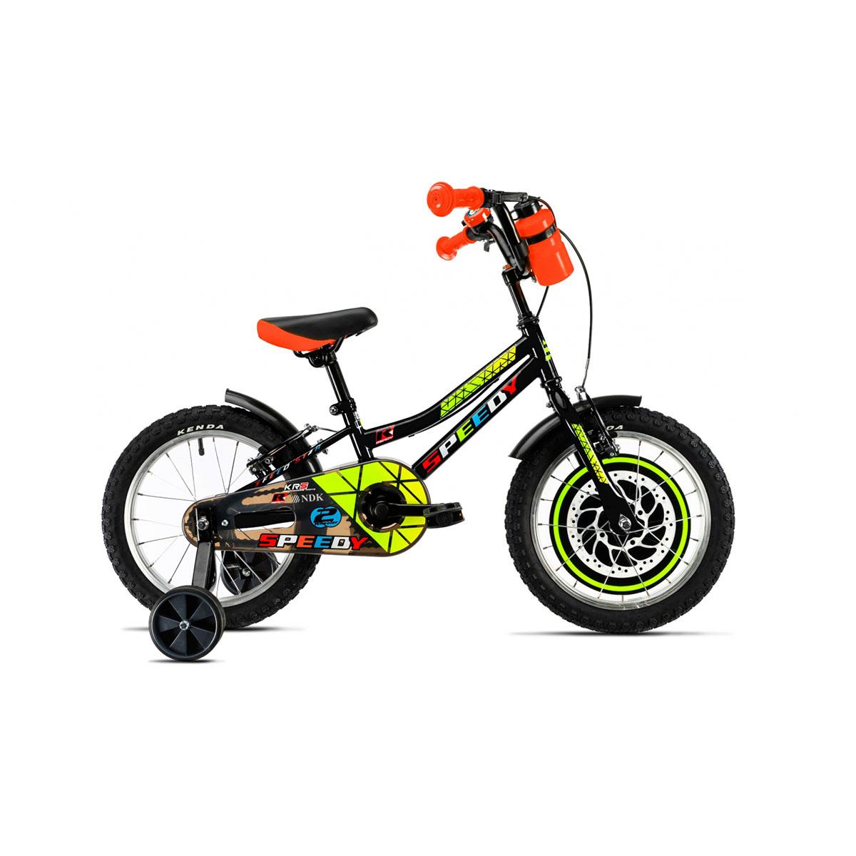 Bicicleta copii DHS, 16 inch, negru