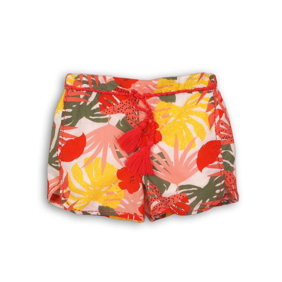 Pantaloni scurti cu talie elastica si snur, Minoti Funhouse imagine