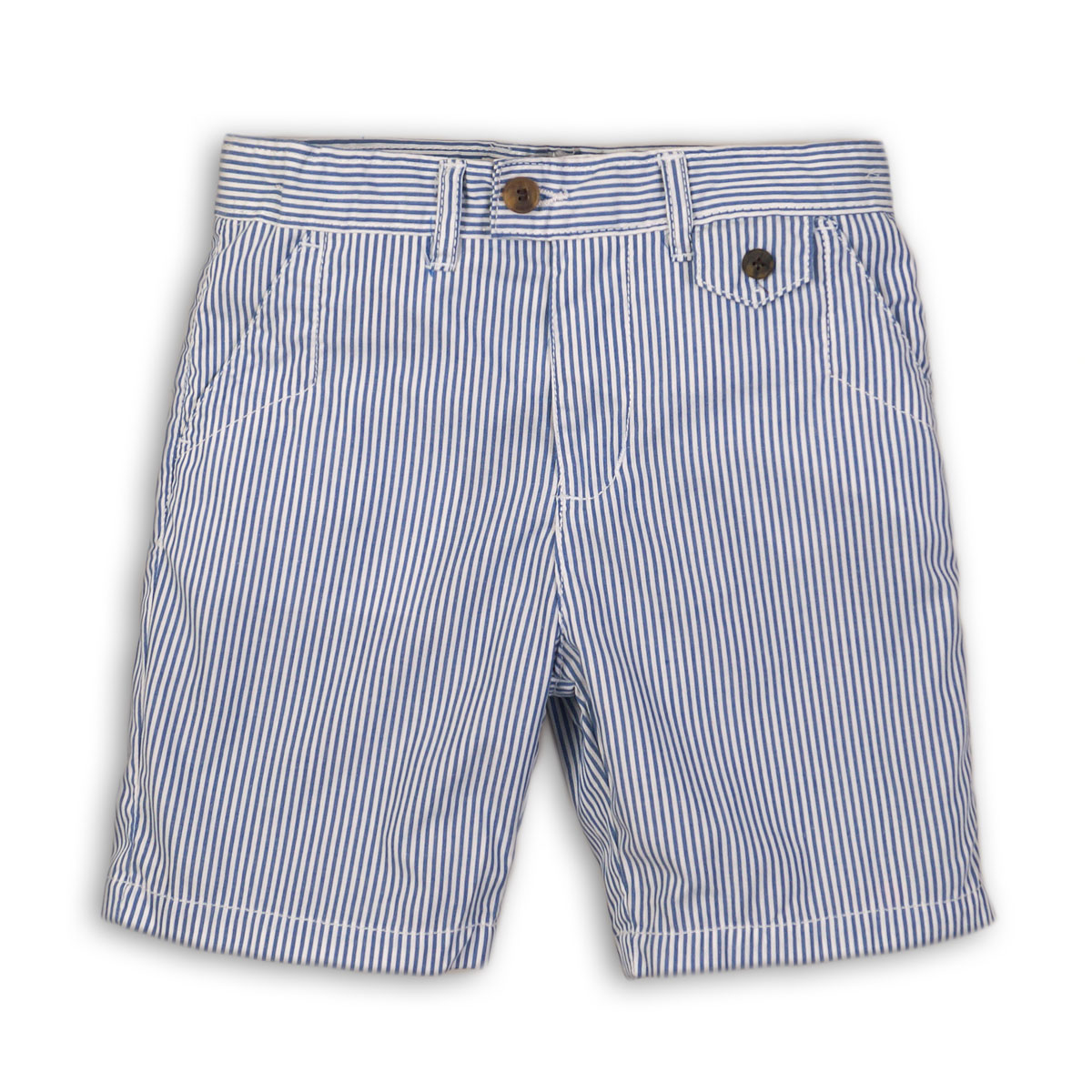 Pantaloni scurti in dungi cu buzunare, Minoti Surf imagine