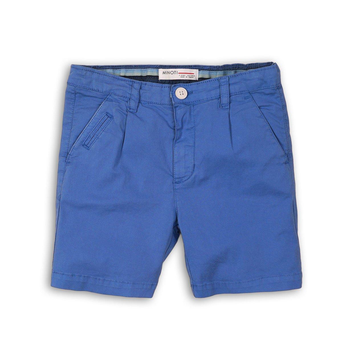 Pantaloni scurti cu buzunare laterale si la spate, Minoti Tropics