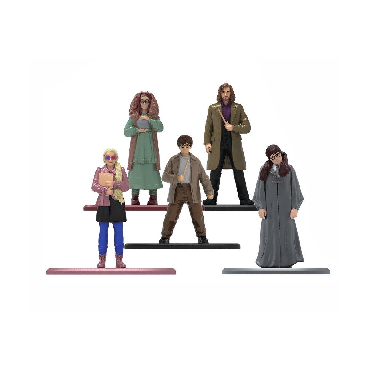 Set 5 figurine din metal Harry Potter, 6 cm imagine