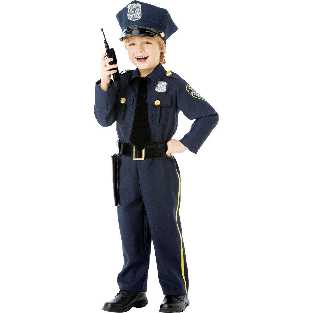 Costum de petrecere politist