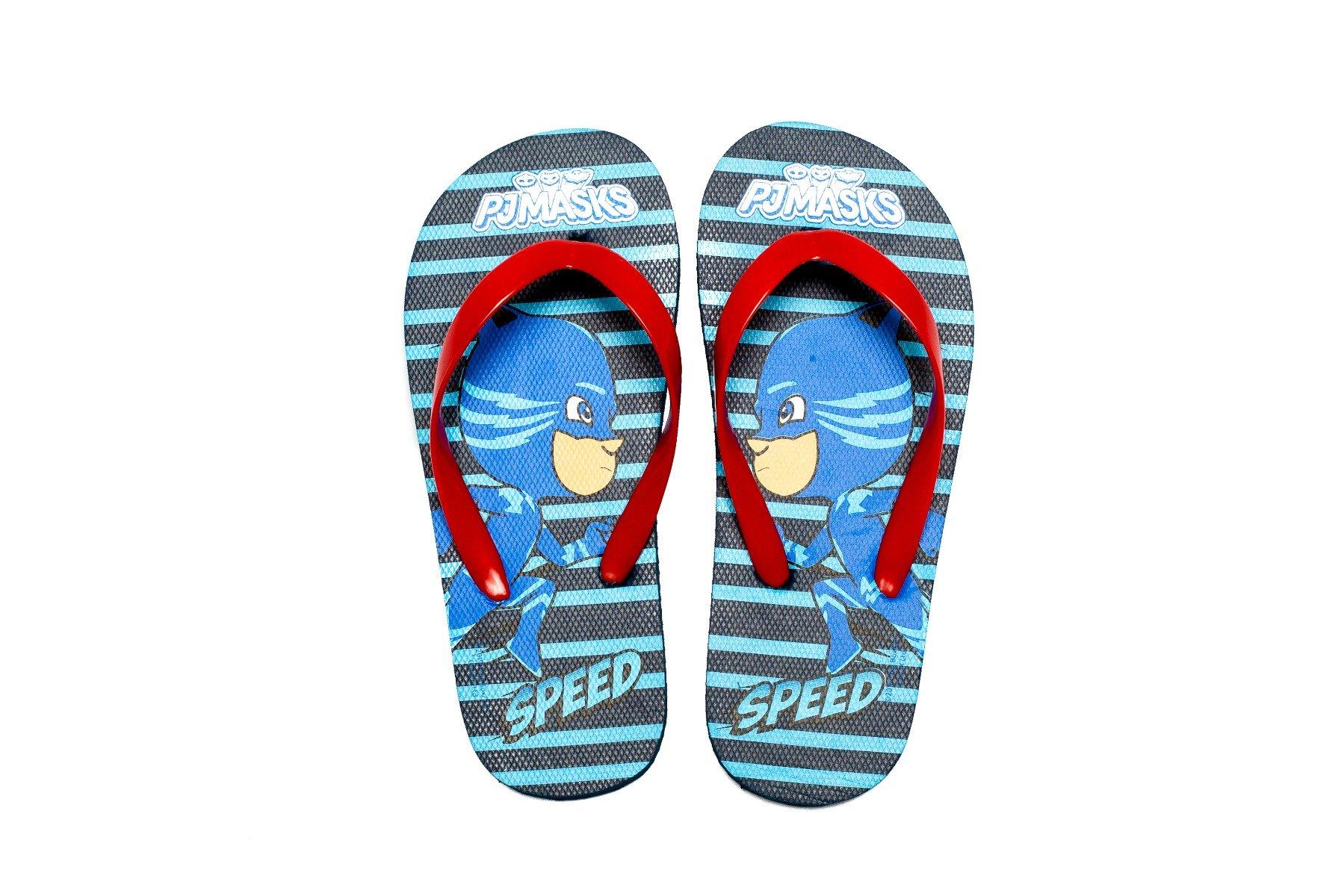 Papuci baieti Pj Masks, Speed, Rosu