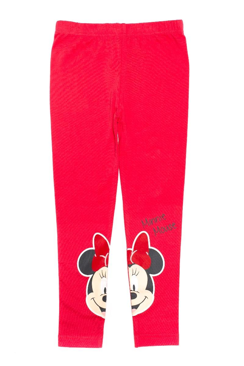 Colanti cu imprimeu Disney Minnie Mouse, Rosu