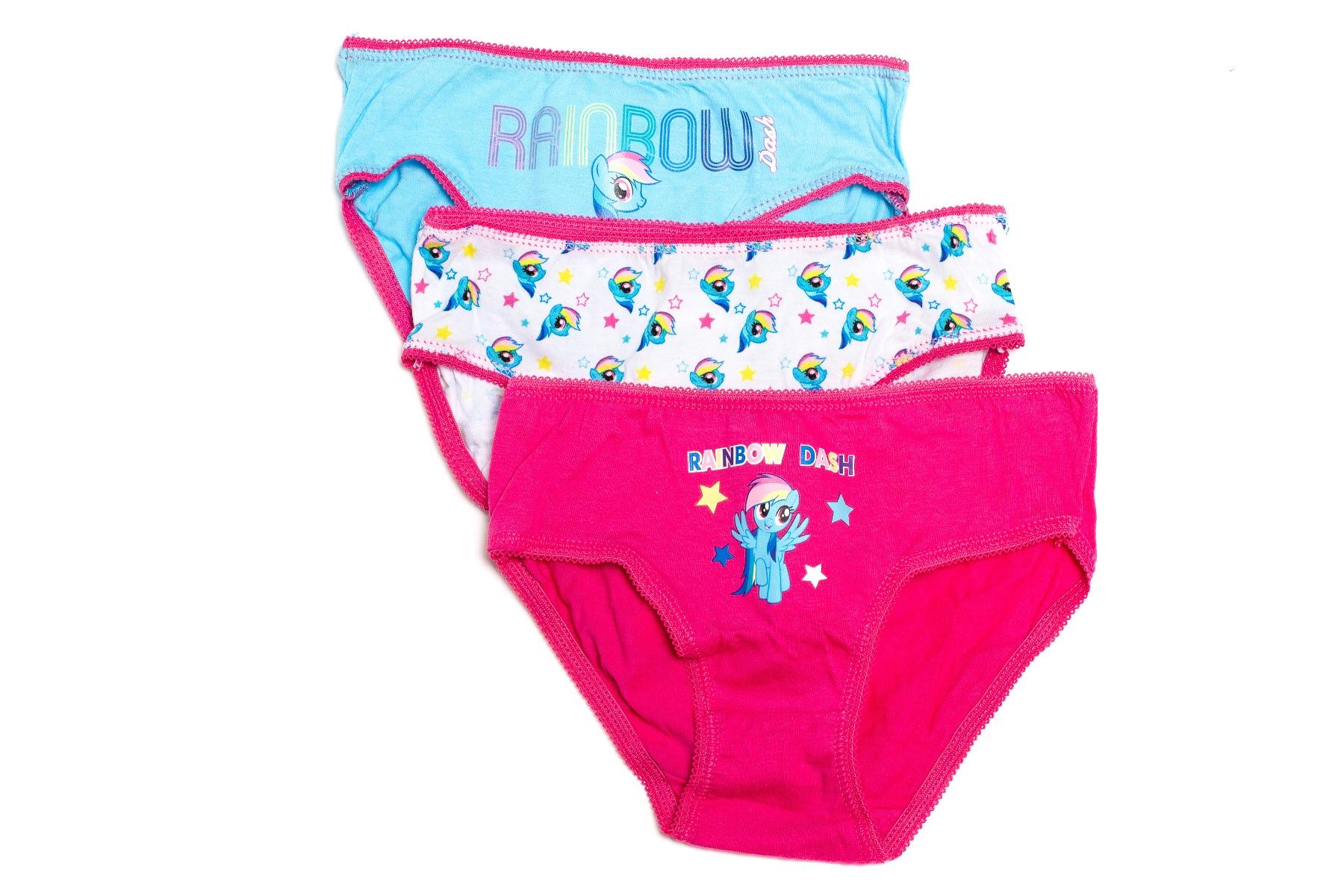 Set chiloti fete cu imprimeu My Little Pony, Rainbow Dash imagine