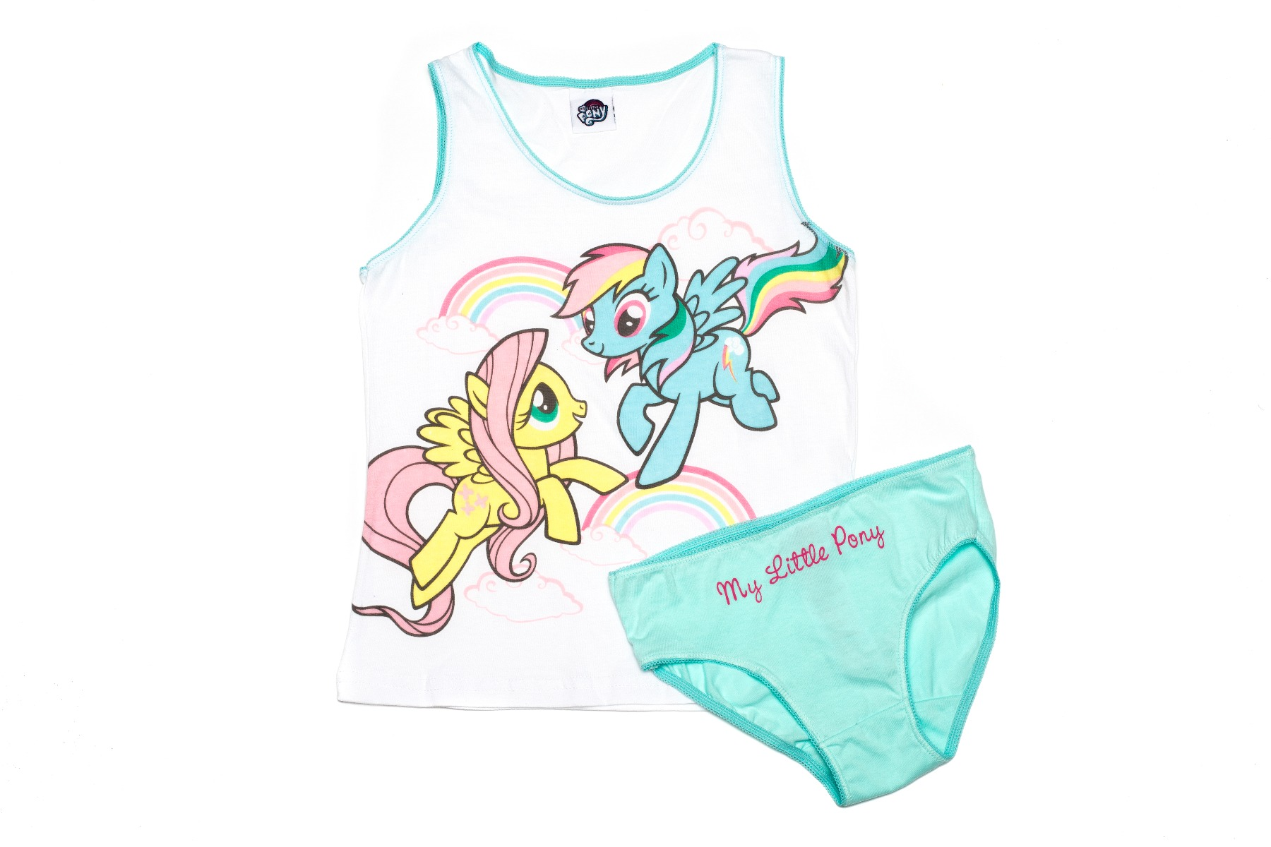 Set lenjerie fete My Little Pony, Turcoaz imagine