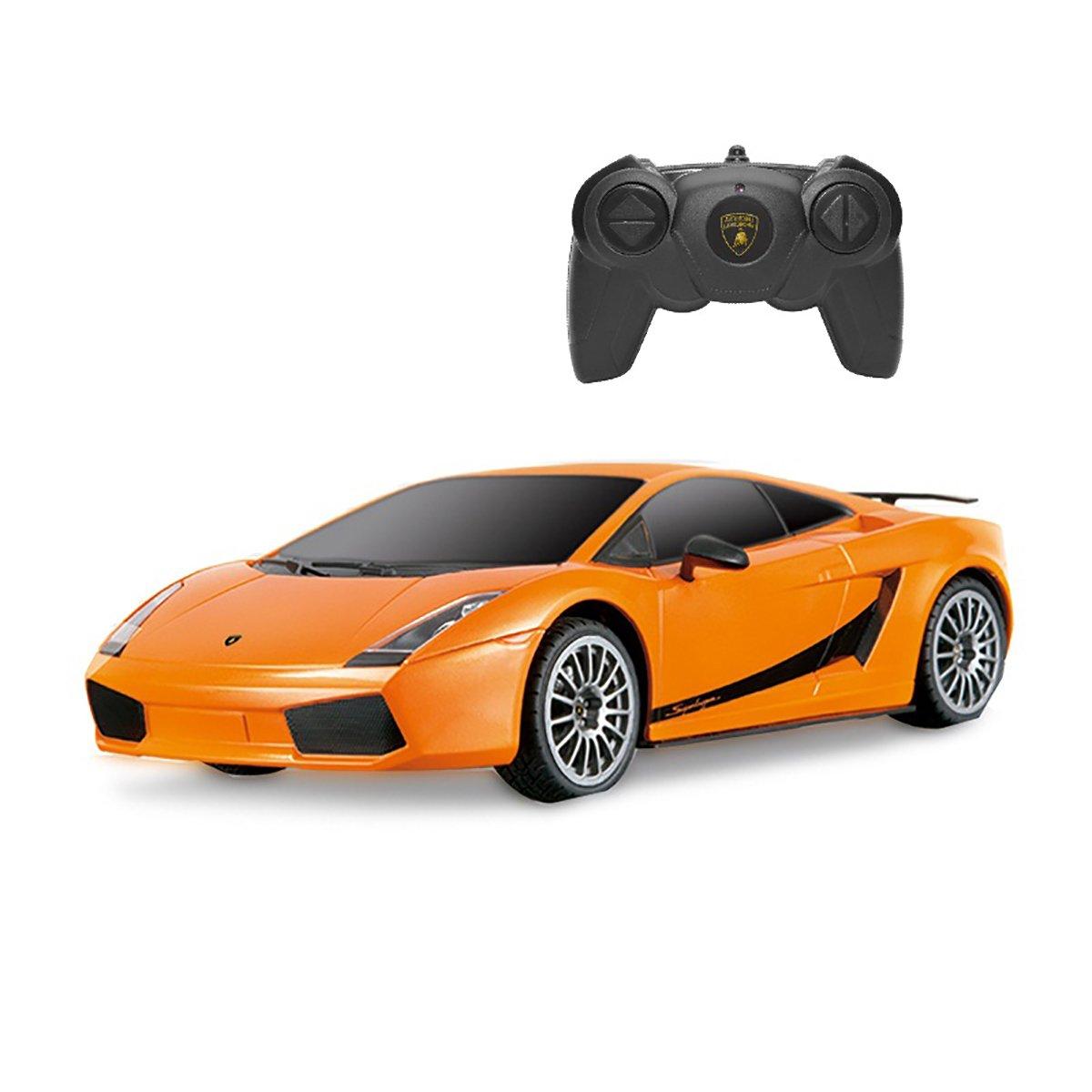 Masinuta cu telecomanda Rastar Lamborghini Superleggera, Portocaliu, 1:24