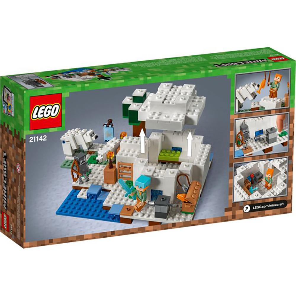 LEGO® Minecraft™ Iglu polar (21142)