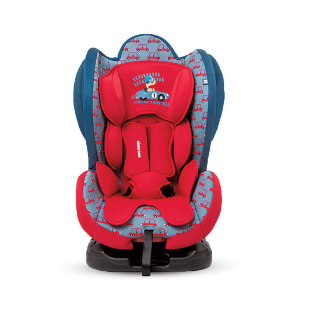 Scaun auto Kikka Boo, Bon Voyage, Red Cars, (0-25 Kg) imagine 2021
