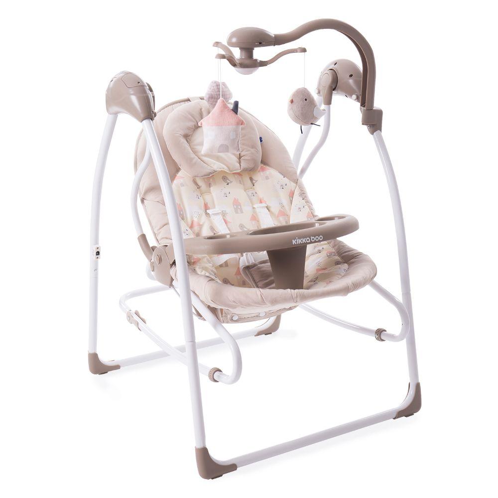 Leagan pentru bebelusi 2 in 1 Mia Stella Kikka Boo, Bej imagine