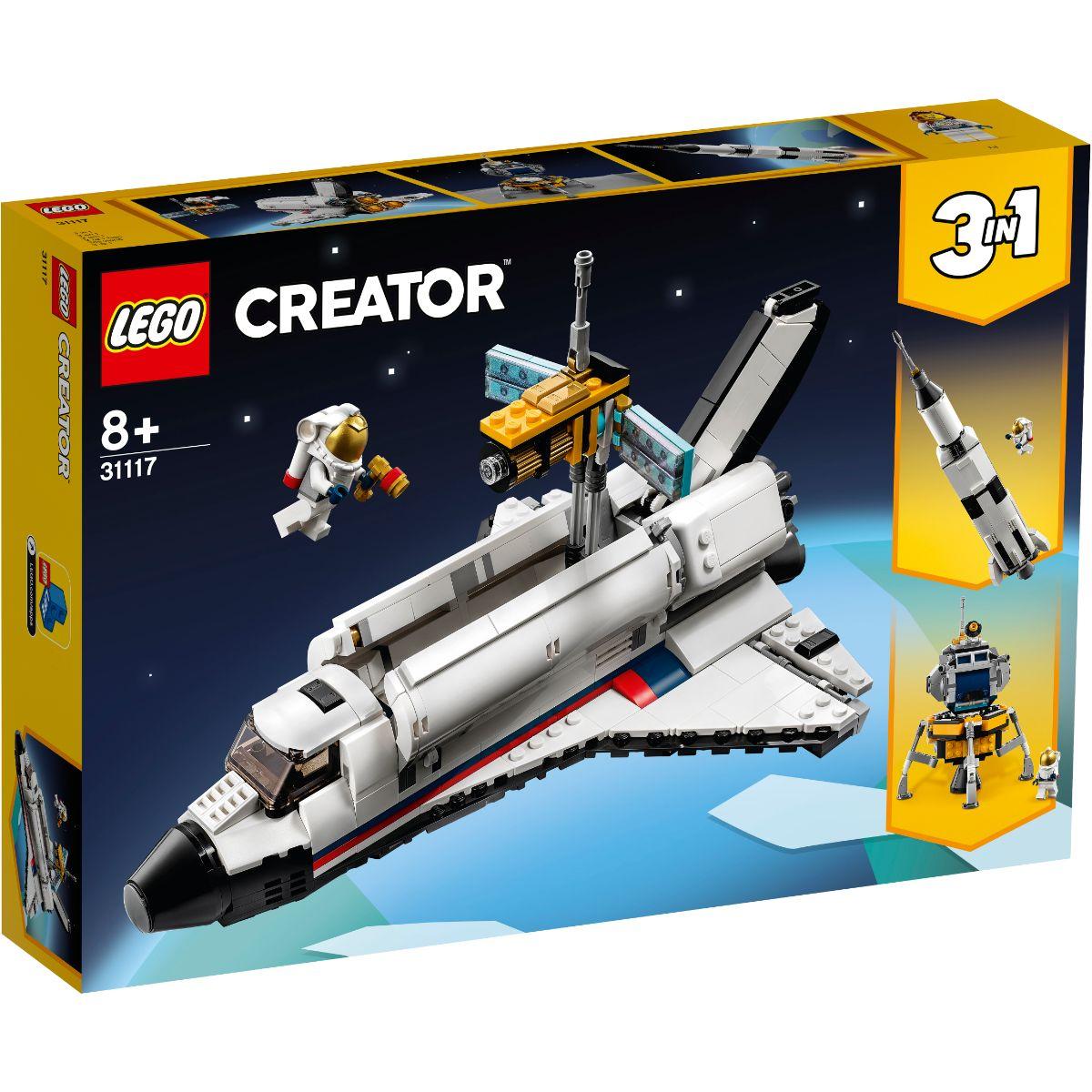 LEGO® Creator - Aventura Cu Naveta Spatiala (31117)