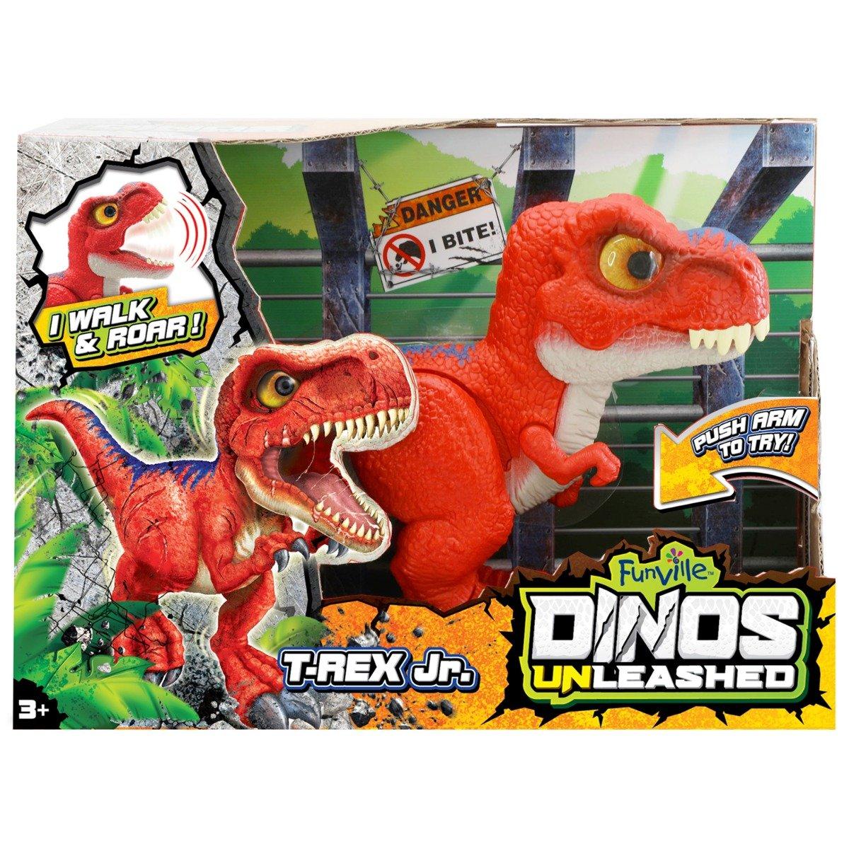Jucarie interactiva Dinos Unleashed, T-Rex Jr.