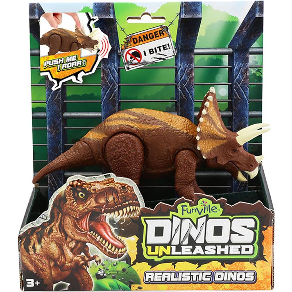Jucarie interactiva Dinos Unleashed, Dinozaur, Maro