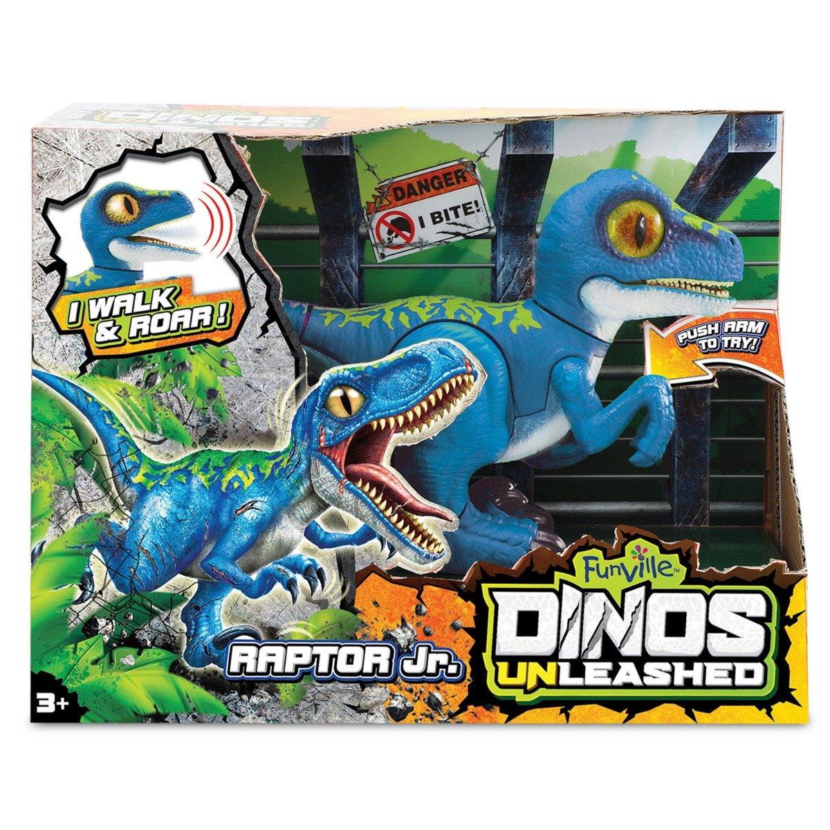 Jucarie interactiva Dinos Unleashed, Raptor Jr.
