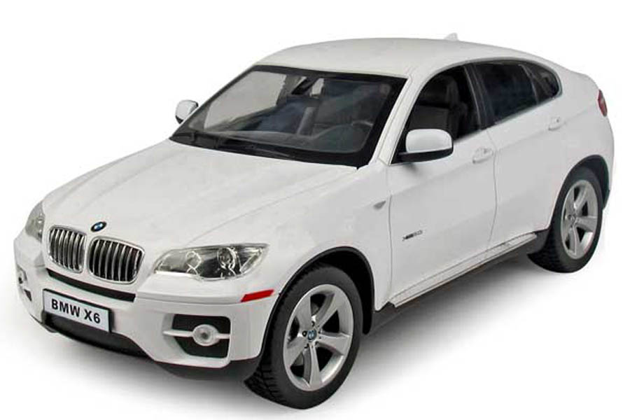 Masina cu telecomanda Rastar BMW X6 1:14, Alb
