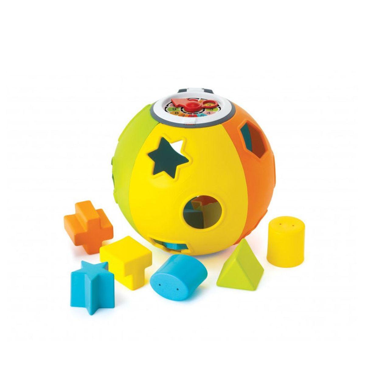 Jucarie Pentru Bebelusi, B Kids, Minge De Sortat Forme Geometrice