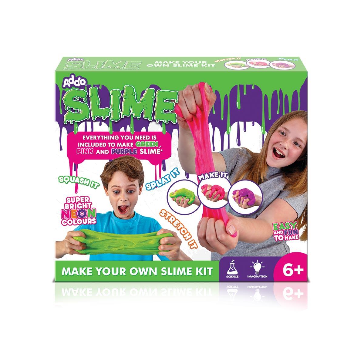 Set De Creatie Gelatina Slime, Addo Play, Roz