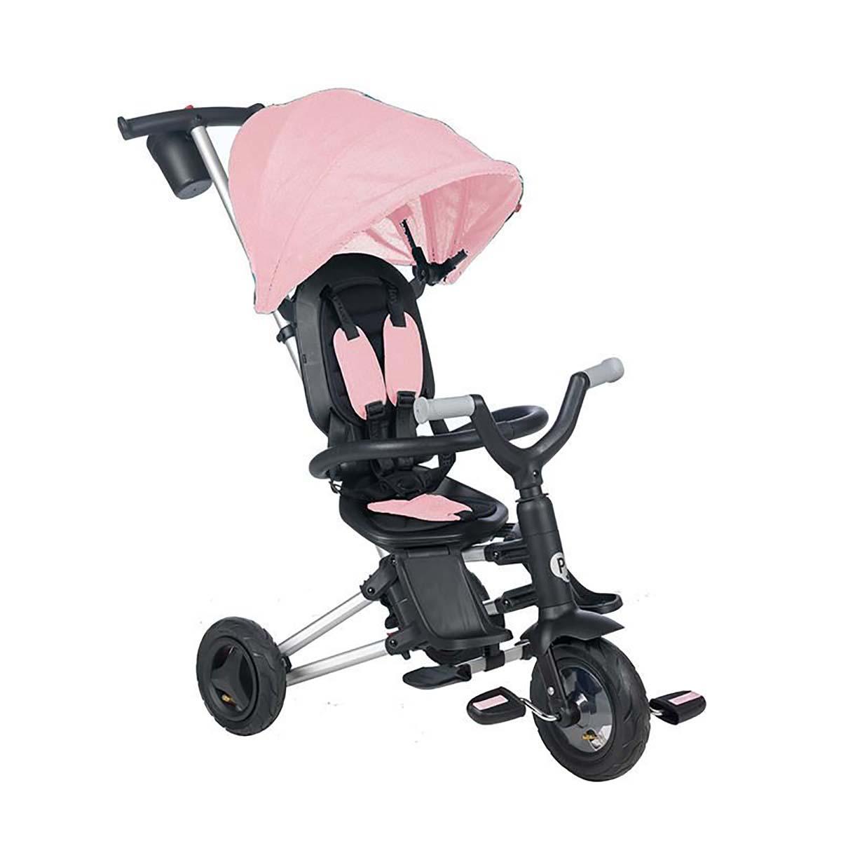 Tricicleta ultrapliabila Qplay Nova, Roz