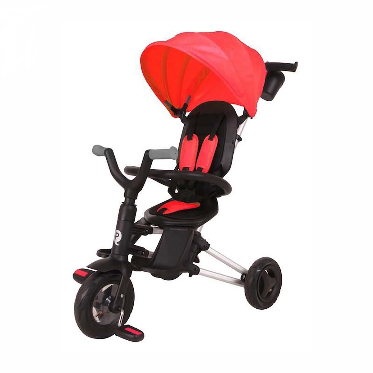 Tricicleta Ultrapliabila Qplay Nova Air, Rosu