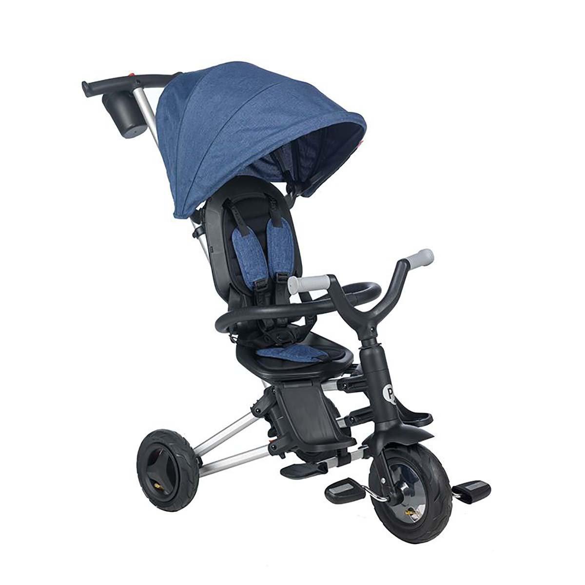 Tricicleta ultrapliabila Qplay Nova Air, Albastru imagine