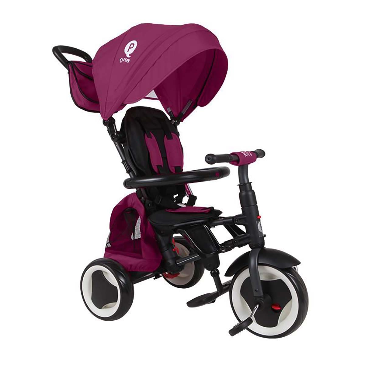 Tricicleta pliabila Qplay Rito Plus, Violet imagine