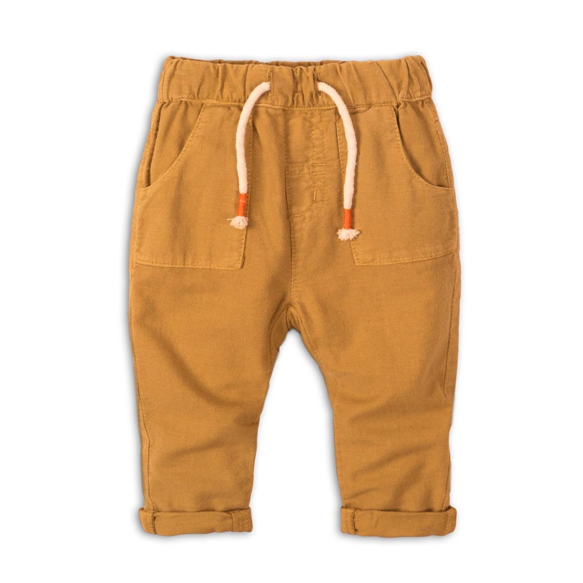Pantaloni cu buzunare si snur Minoti Camel