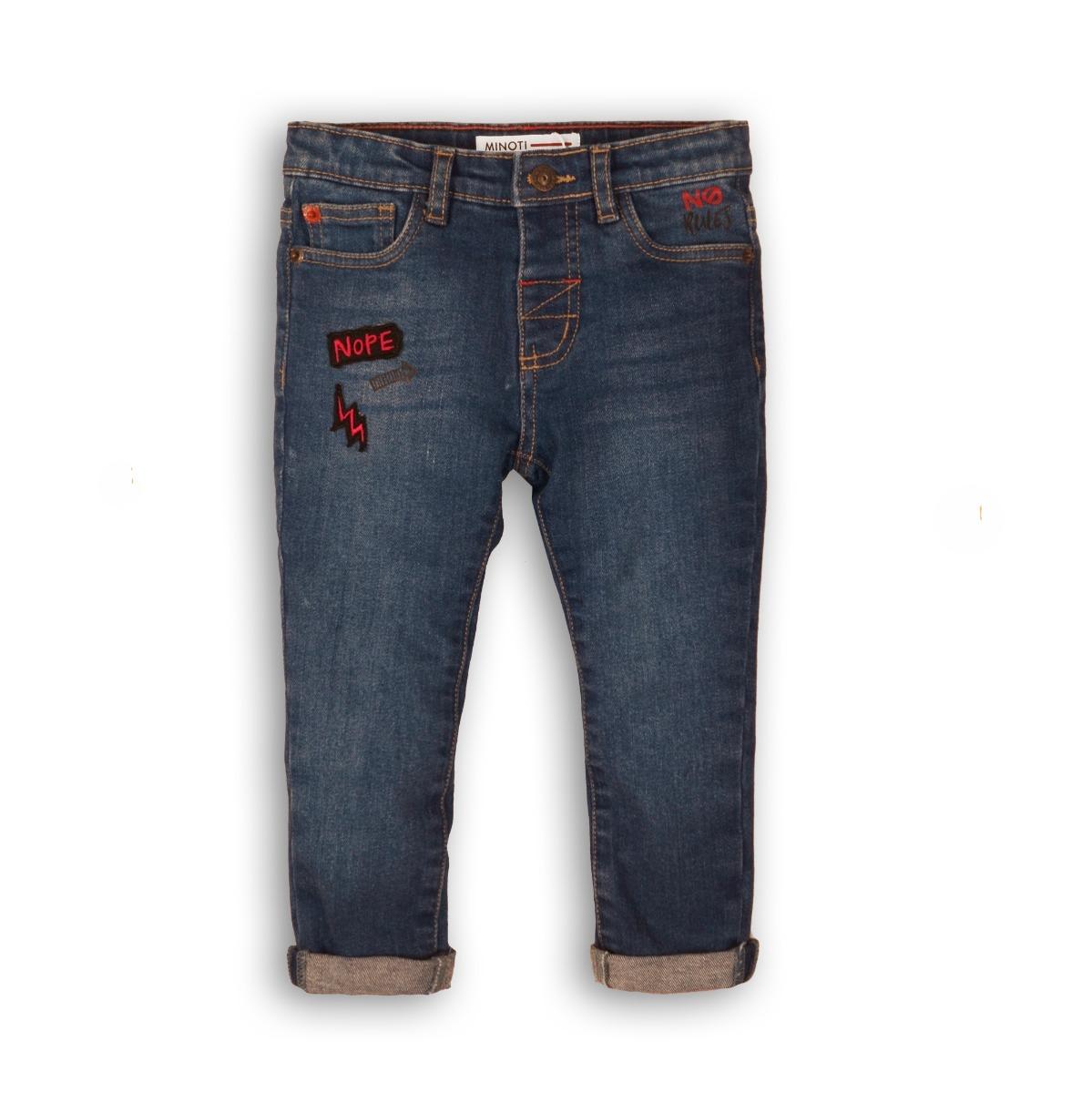 Pantaloni jeans cu buzunare Minoti Nope