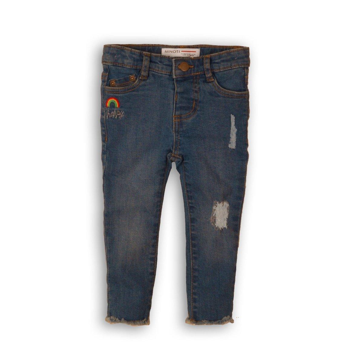 Pantaloni jeans cu design Minoti Place imagine