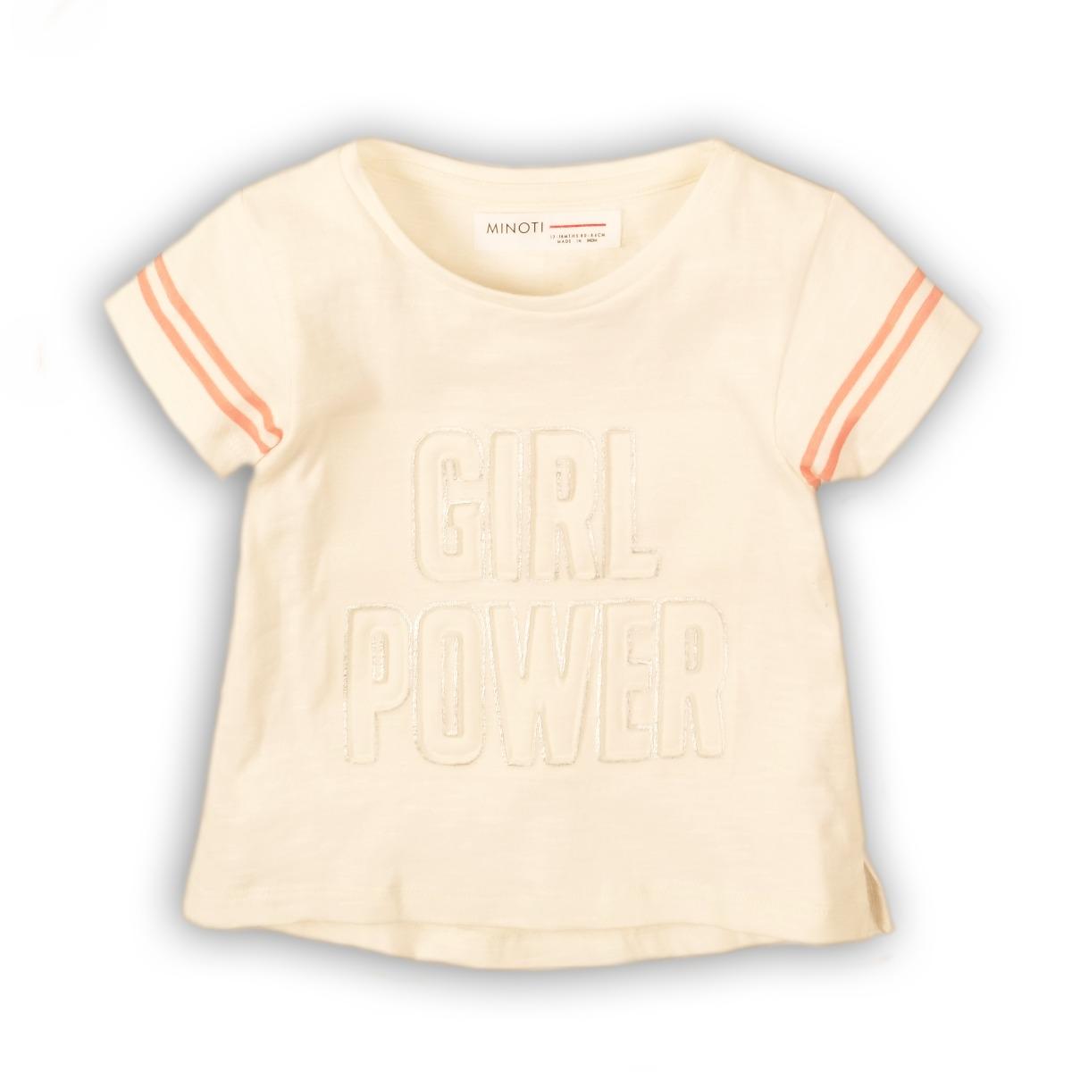 Tricou cu maneca scurta Minoti Girl Power