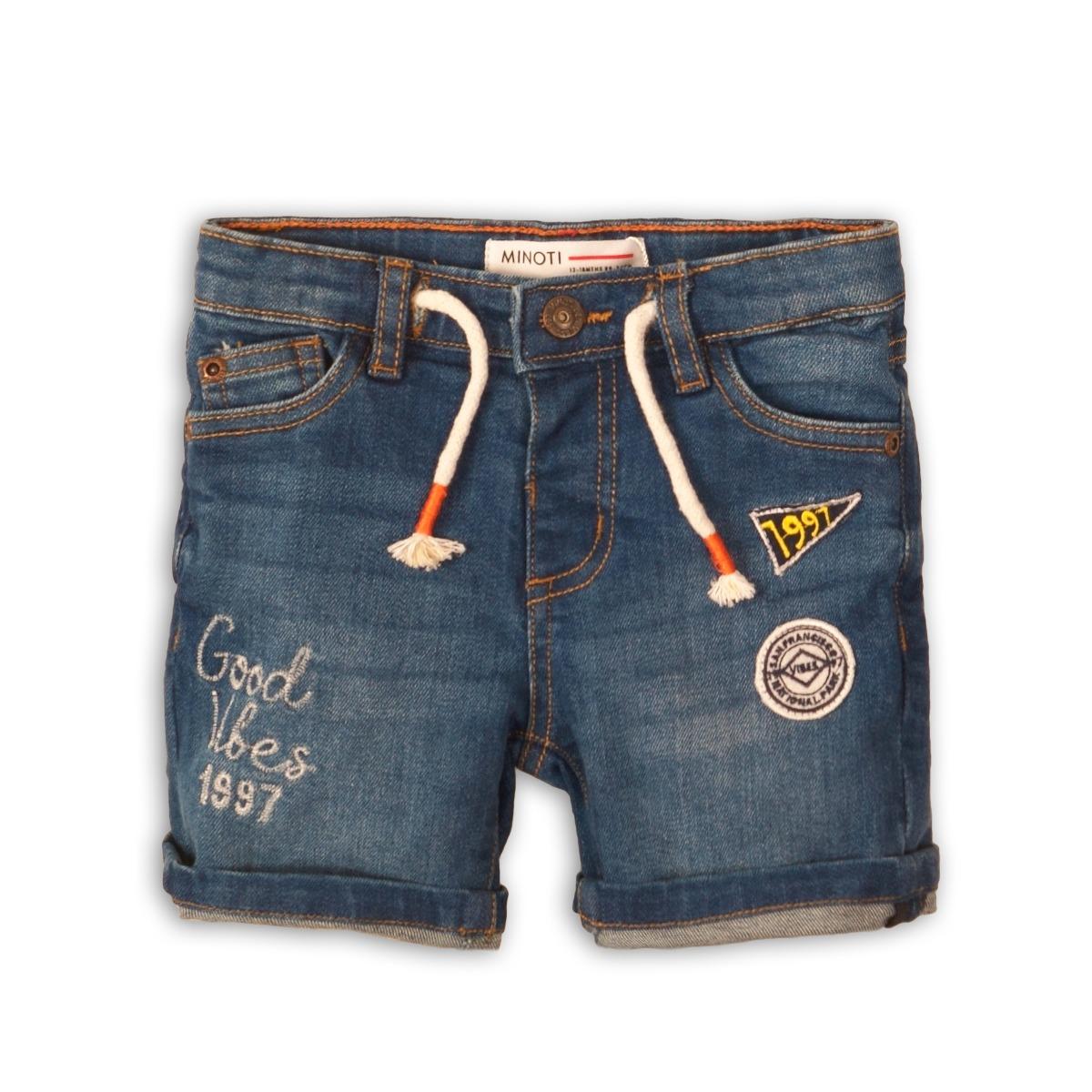 Pantaloni jeans scurti Minoti Jeep