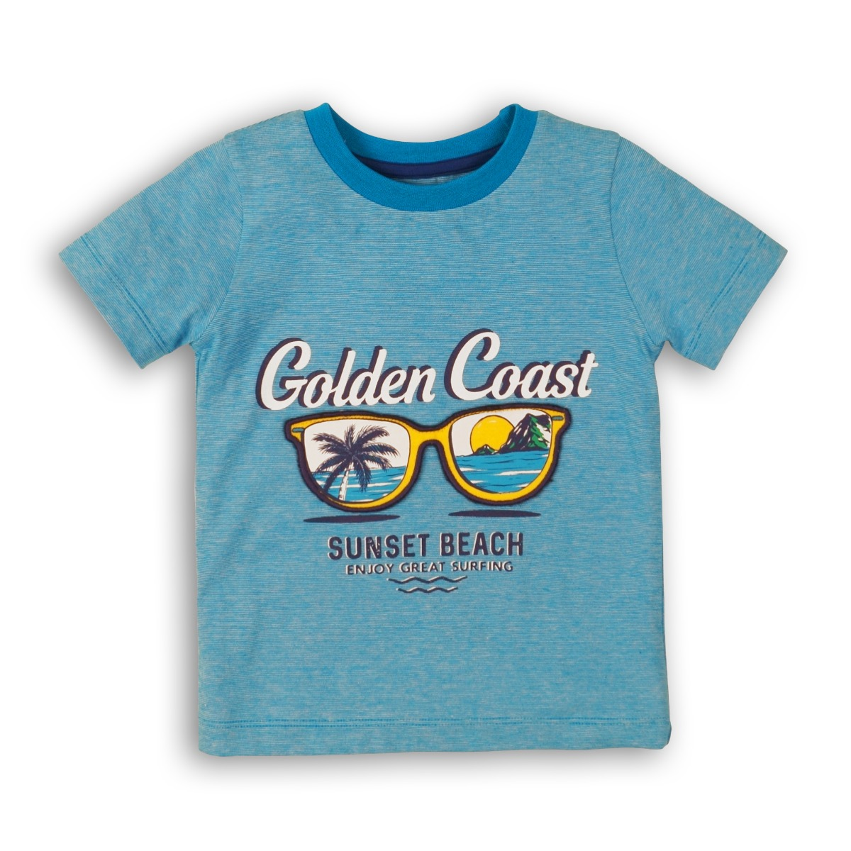 Tricou cu maneca scurta Minoti Golden Coast Sunset