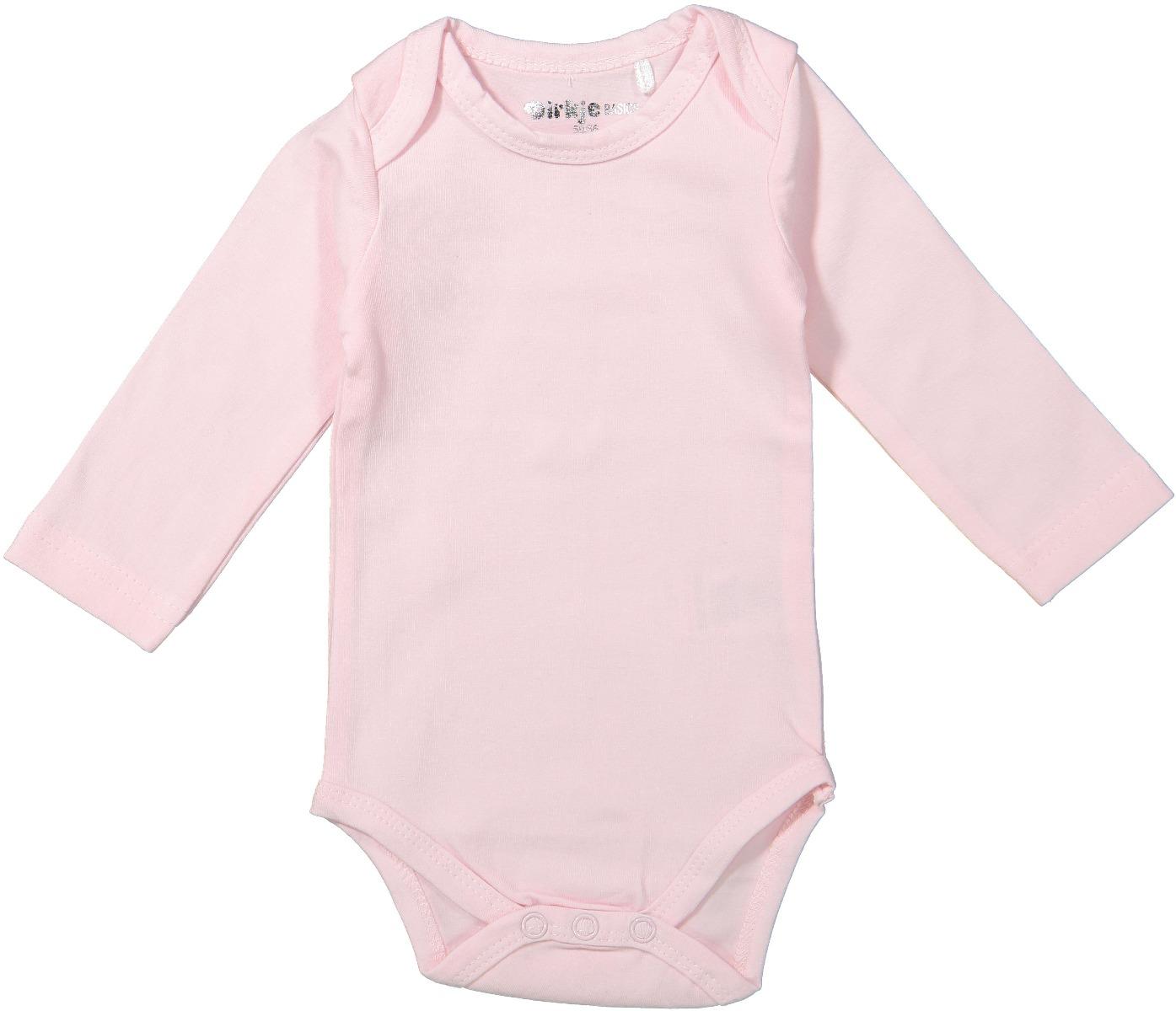 Body bebe cu maneca lunga Dirkje, Roz imagine