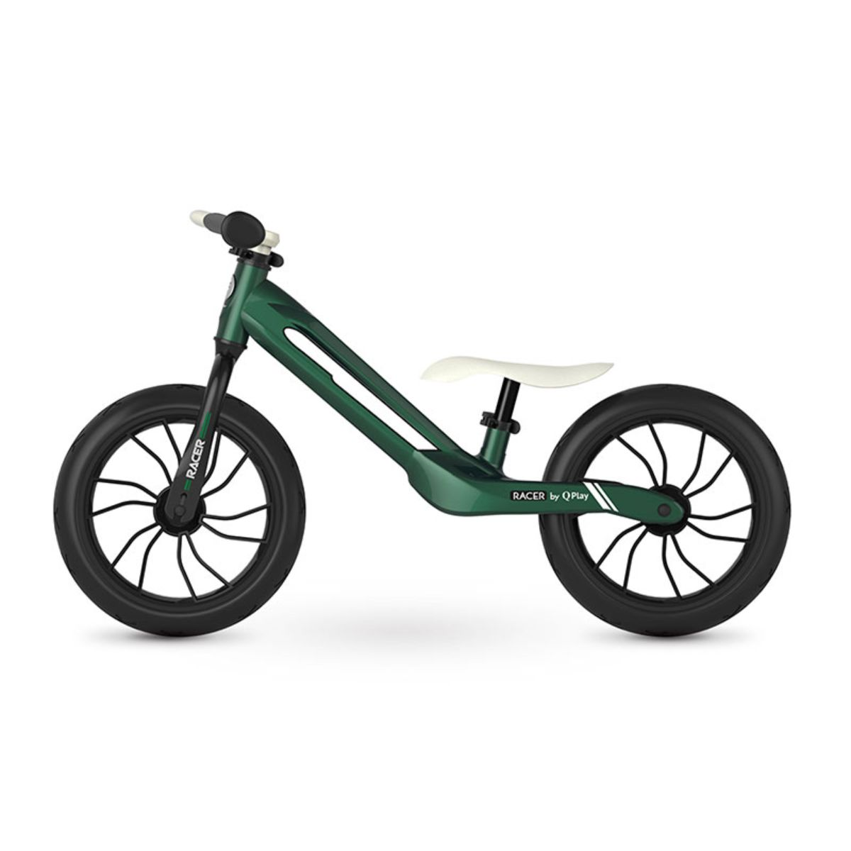 Bicicleta fara pedale DHS Baby Qplay Racer, Verde, 12 inch