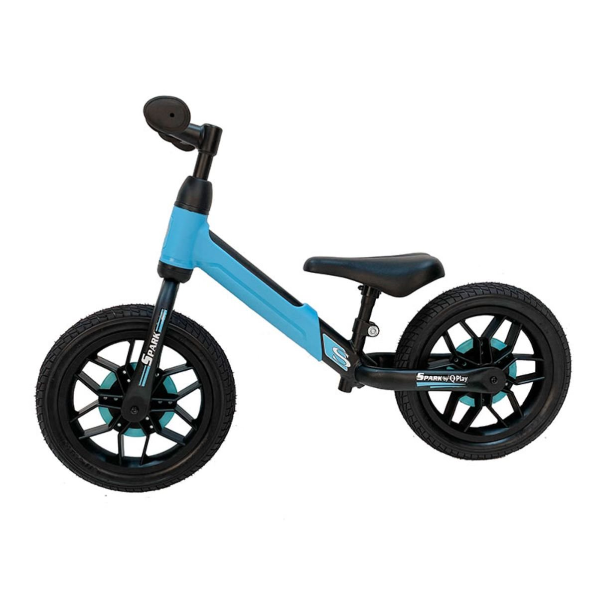 Bicicleta fara pedale DHS Baby Qplay Spark, Albastru, 12 inch