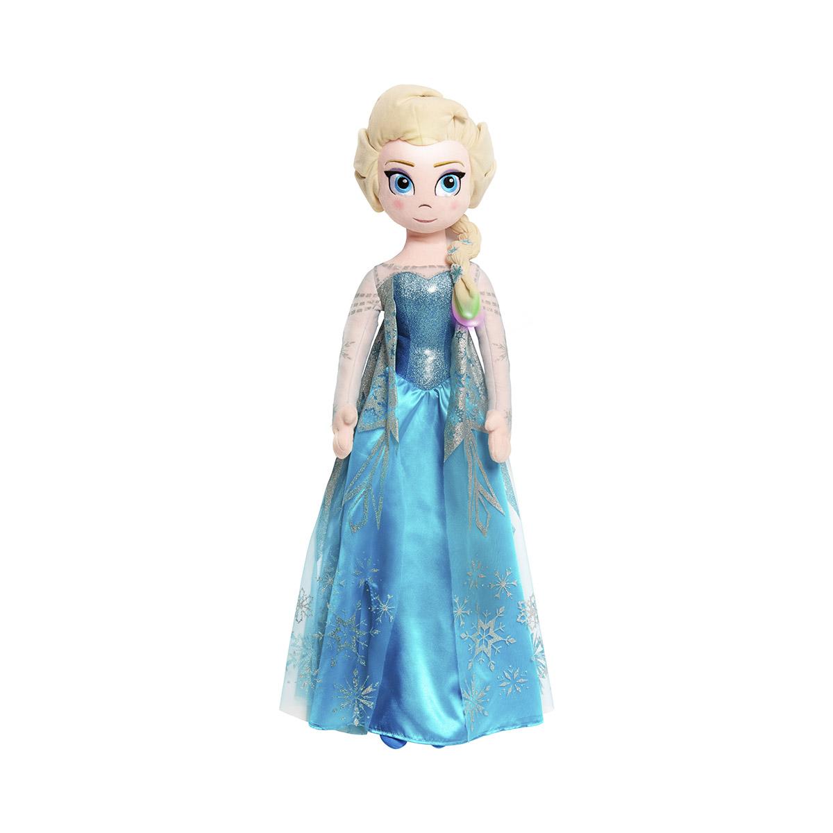 Jucarie de plus interactiva Disney Frozen 2, Elsa canta