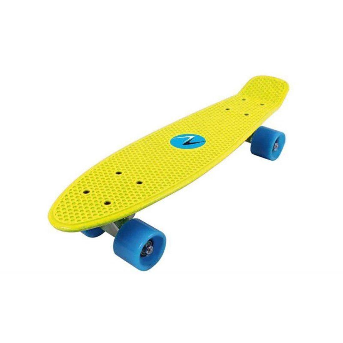 Skateboard penny board DHS Nextreme Freedom, galben imagine