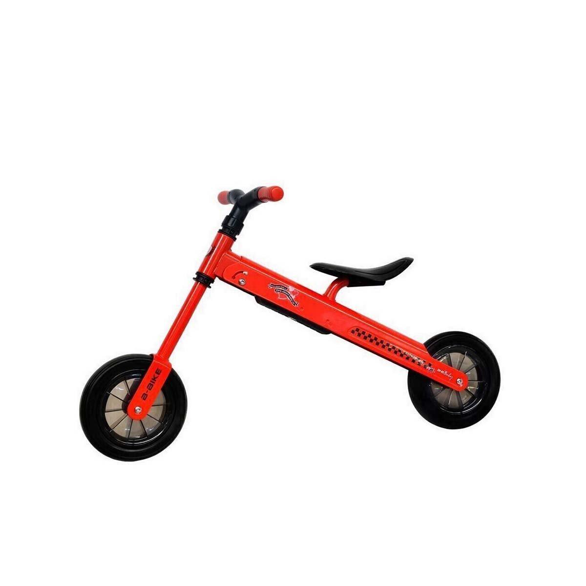 Bicicleta fara pedale B-Bike DHS Baby, Rosu