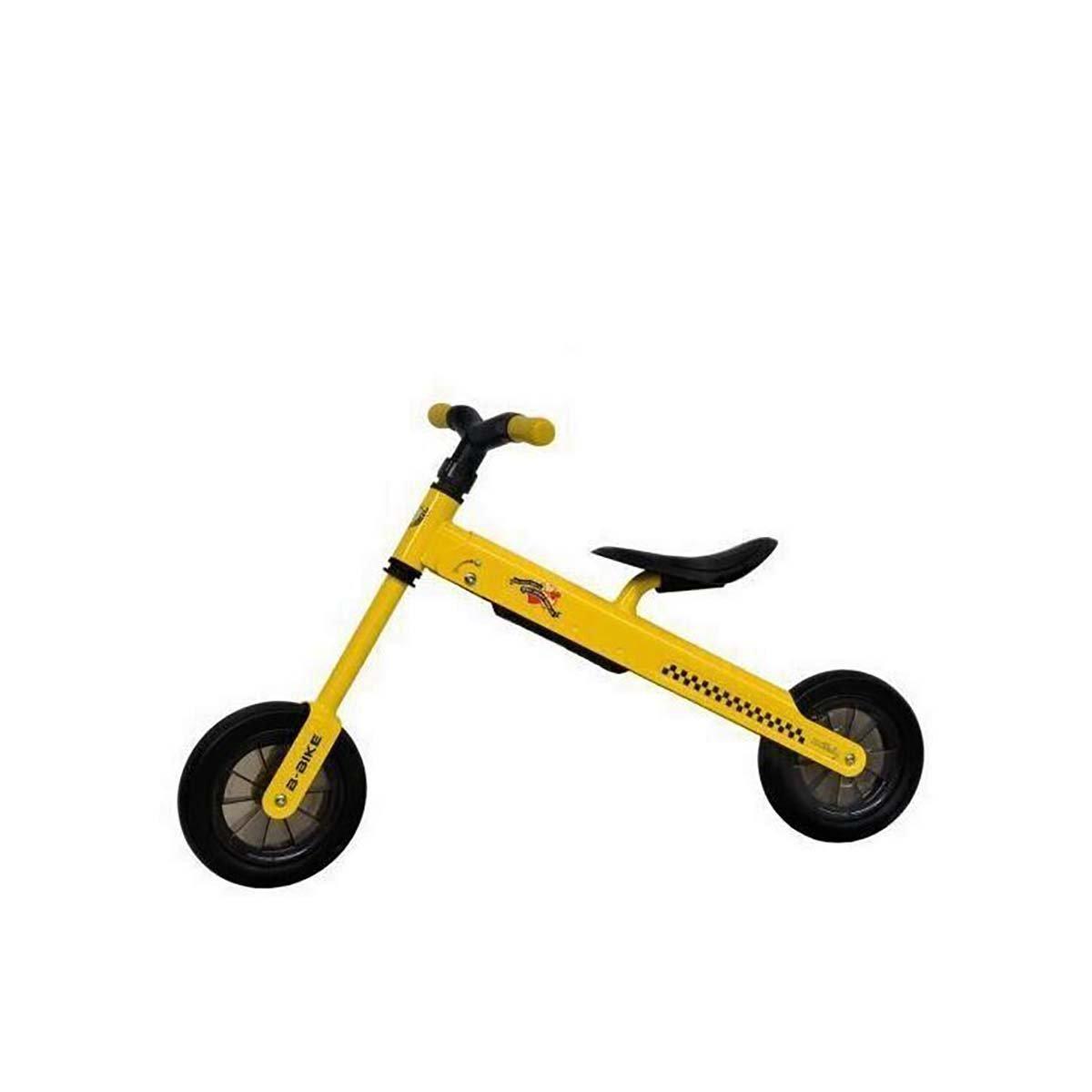 Bicicleta fara pedale B-Bike DHS Baby, Galben