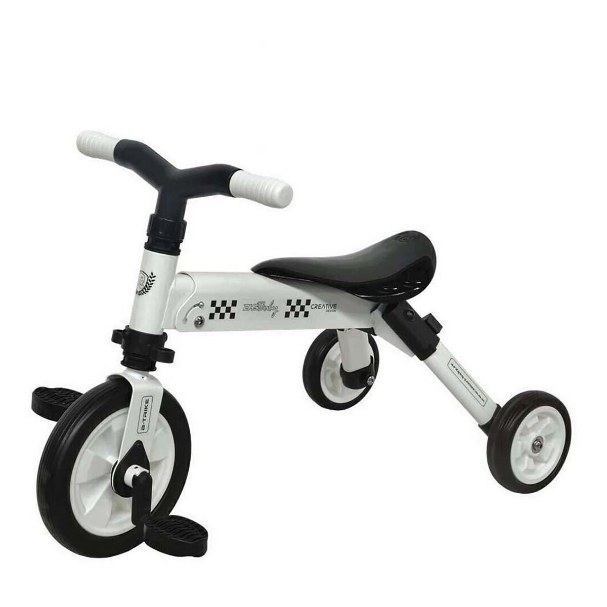 Tricicleta B-Trike DHS Baby, Alb imagine