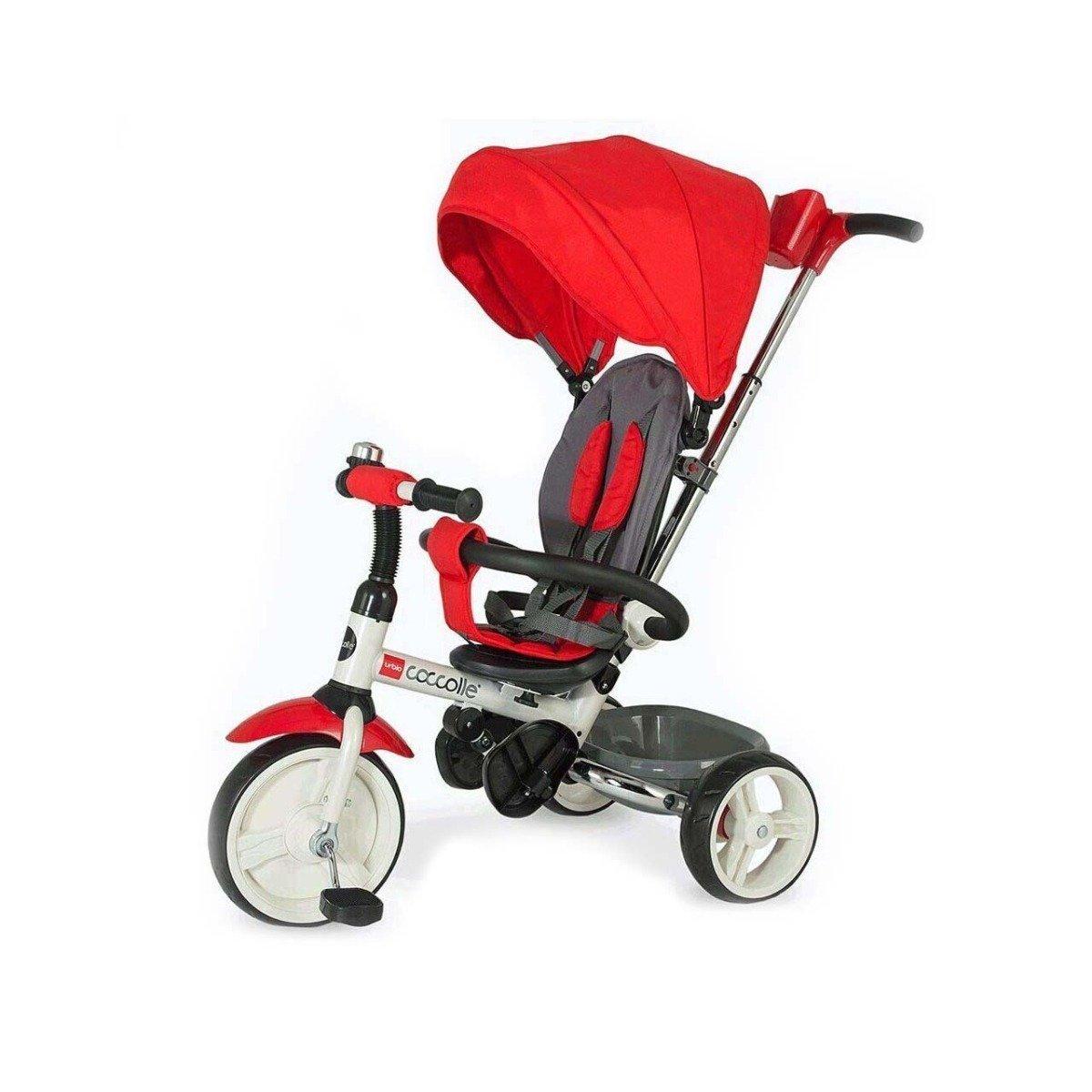 Tricicleta pliabila Urbio Coccolle, Rosu imagine