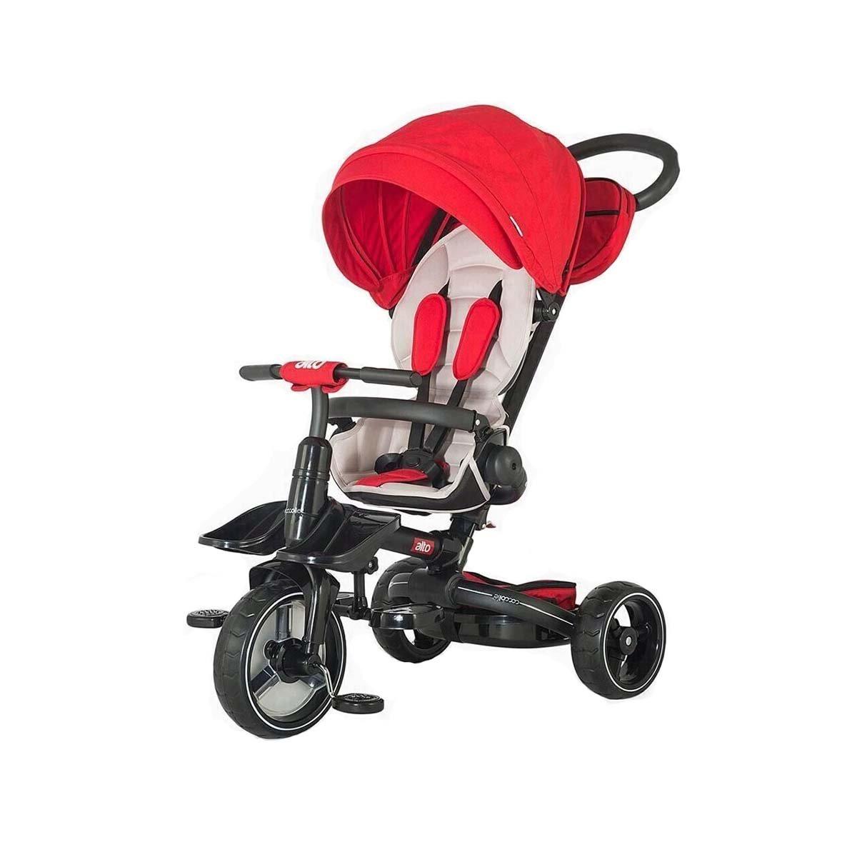 Tricicleta multifunctionala Alto Coccolle, Rosu imagine