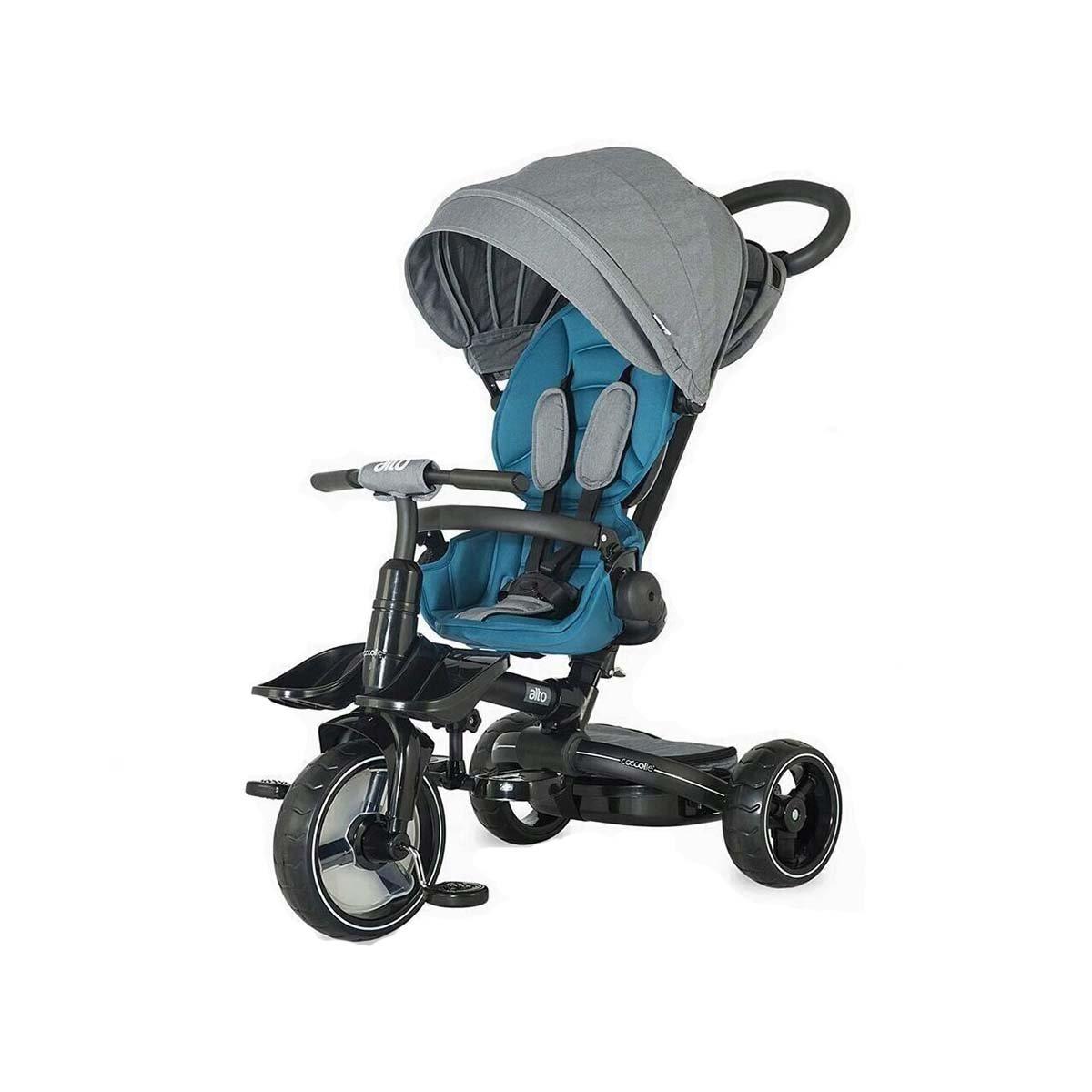 Tricicleta multifunctionala Alto Coccolle, Albastru imagine