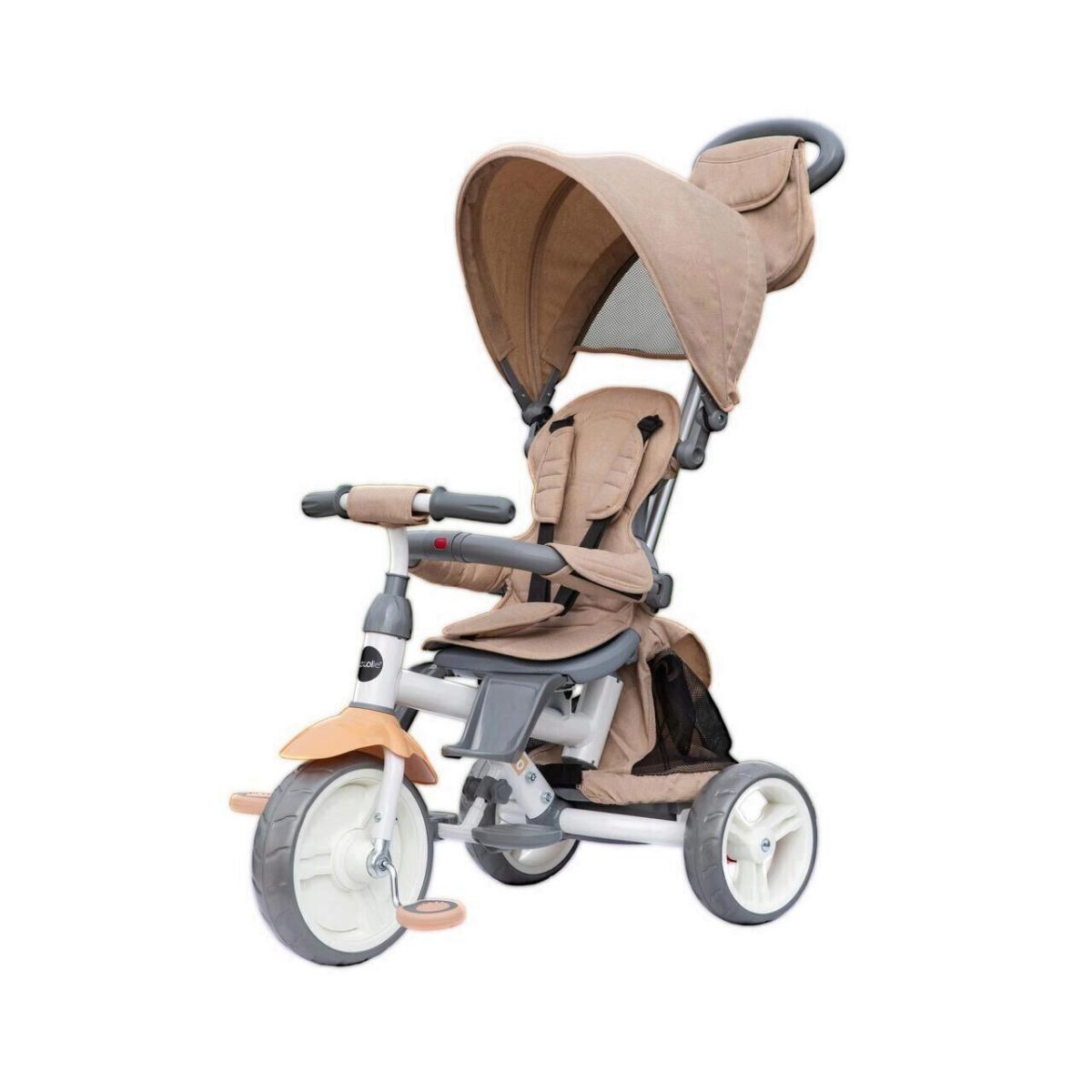 Tricicleta multifunctionala Evo Coccolle, Bej