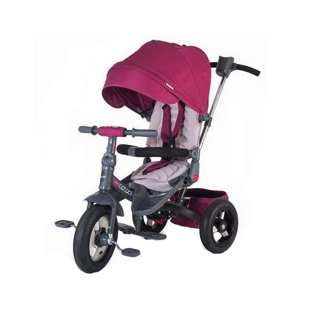 Tricicleta multifunctionala Corso Coccolle, Violet imagine