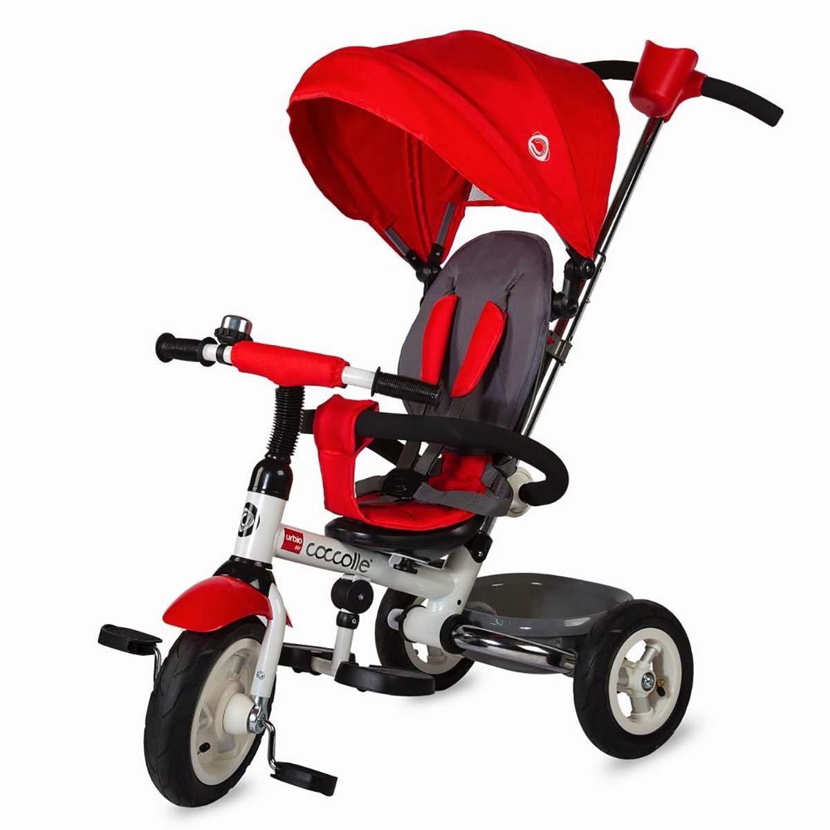 Tricicleta pliabila Urbio Air Coccolle, Rosu imagine