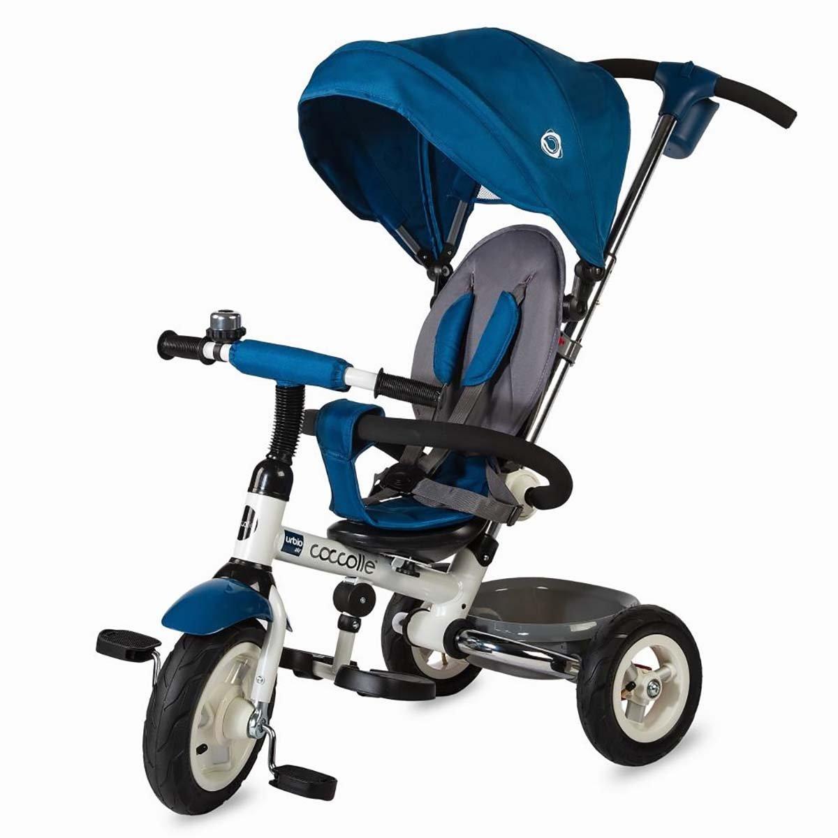 Tricicleta pliabila Urbio Air Coccolle, Albastru imagine