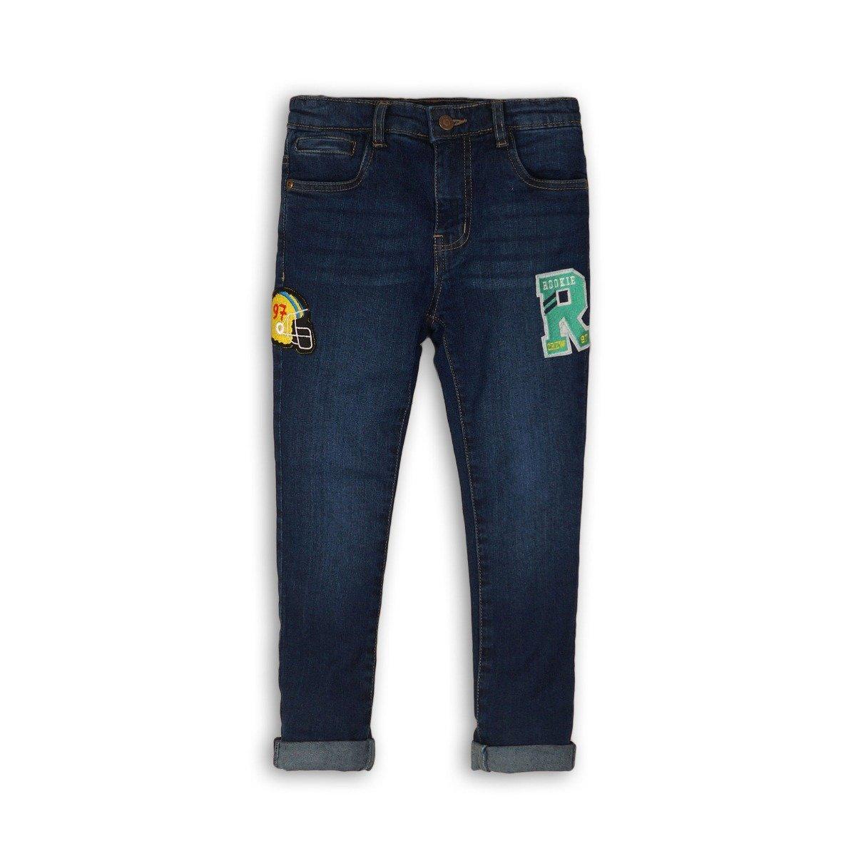 Pantaloni jeans skinny denim Minoti Campus, Albastru