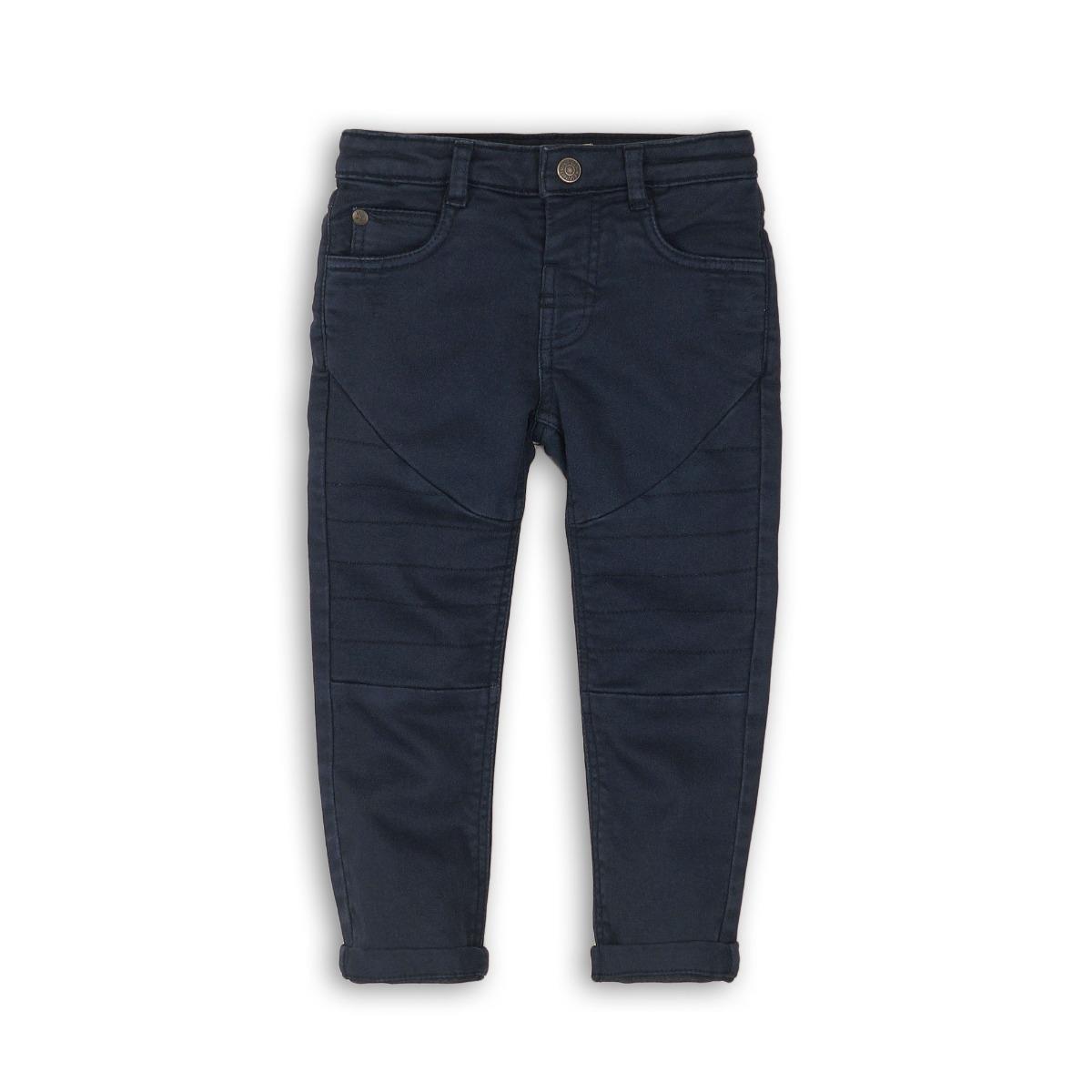 Pantaloni lungi cu buzunare Minoti Out, Bleumarin